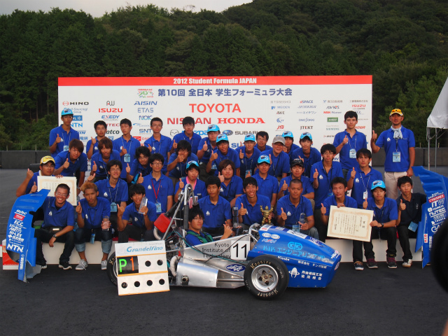 Winner of 10th Student Formula